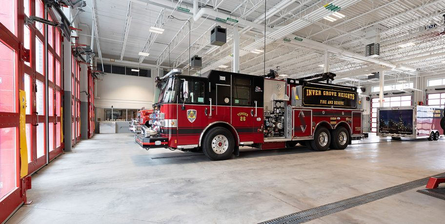 Inver Grove Heights Fire Department Truck Bay
