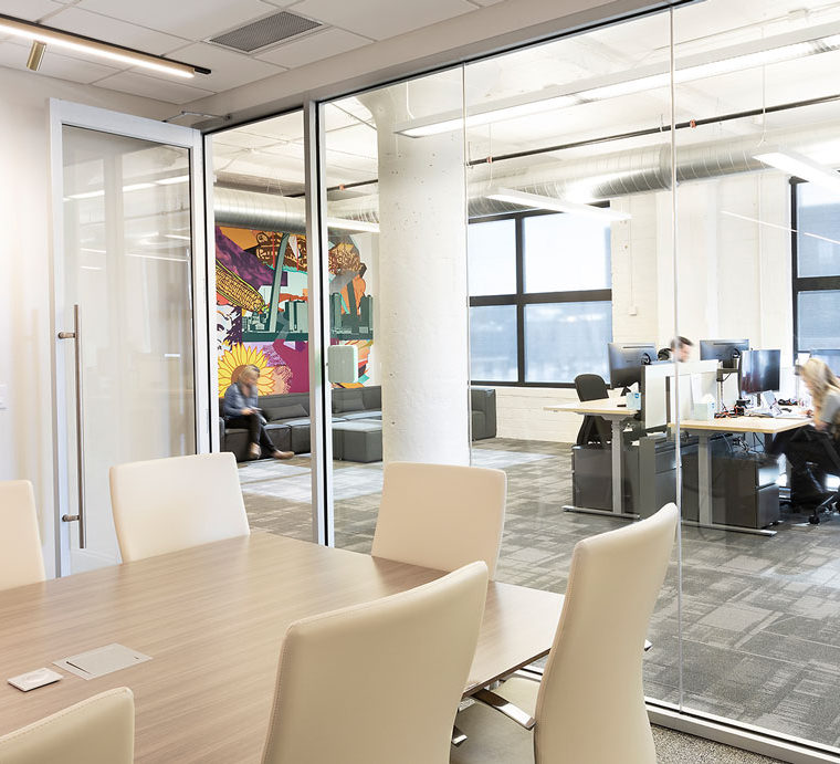 Energetic Corporate Client Offices